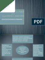 Programa de Estudio 2011 Historia