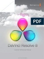 DaVinci Resolve Manual