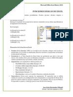 Modulo III Funciones básicas Excel