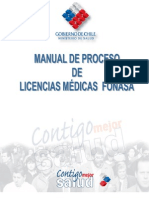 Manual de Proceso de Licencias Medicas Fonasa