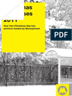 Christmas Day Bus Timetables 2011