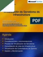 Virtualizacion de Servidores de Infraestructura
