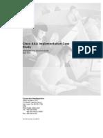 AAA Implementation CStudy