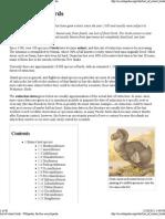 List of Extinct Birds - Wikipedia, The Free Encyclopedia