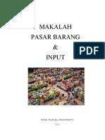 Pasar Barang Dan Input