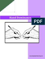 Hand Dominance - Mini Unit