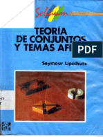 [Schaum - Seymour Lipschutz Teoria de Conjuntos y Temas Afines