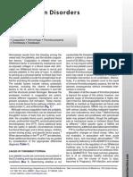 Coagulation Disorders in the ICU