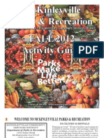 2011 Fall Activity Guide - McKinleyville Community Services District