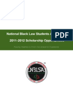 2011 2012 NBLSA Scholarship Packet
