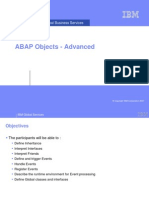 Chapter 02_ABAP Objects - Advanced