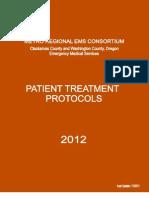 Clackamas County EMS 2012 Protocols