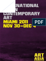 ART ASIA Miami 2011 Catalog