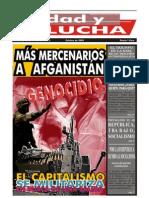 Unidad y Lucha, nº 268, octubre 2009