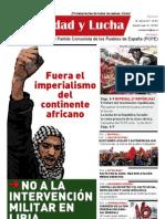 Unidad y Lucha, nº 284, abril 2011