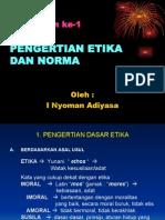 Etika Norma