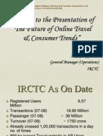 Irctc Stats