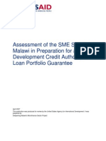 SME Sector in Malawi