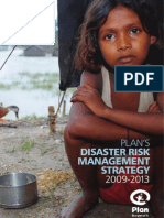 Plan's Disaster Risk Management Strategy 2009 - 2013