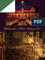 Prospekt Programm-Weihnachts-Hotel 2011