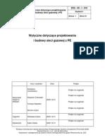 Wytyczne Sieci Gazowe z PE