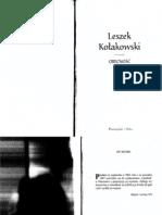 Leszek Kołakowski - Obecność mitu