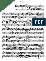 Scarlatti Domenico - Book of 22,5 - Sonata in D Major, Courante, Capriccio