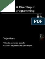 03. Sprite Programming Direct Input