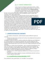 CH 4. Le Contrat Administratif