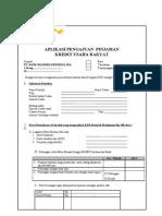 MANDIRI KREDIT Formulir Pendaftaran Mitra Versi1 12Feb.doc