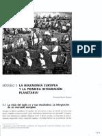 Pavón - La hegemonía europea