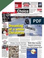 Weekly Choice - December 22, 2011