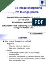 20050430(Multiscale Image Sharpening Adaptive to Edge Profile)