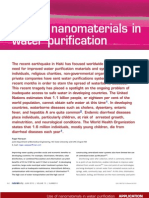 Use of Nano Materials in Water Purification