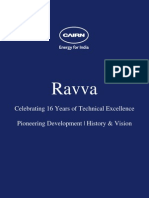 Cairn India Limited - Ravva History and Vision