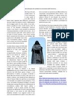 Vita, opere e processo di Giordano Bruno