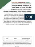 Linee Guida Per Un Piano Alternativo Di (Ri)Ciclo Dei Rifiuti in Toscana