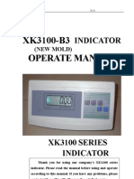 New Mold Xk3100-B3 Manual E-111