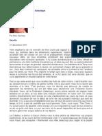 Message de La Fédération Galactique - Mike Quinsey - SaLuSa - 21 décembre 2011