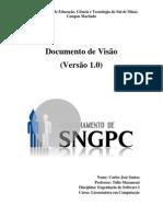 Documento de Visão-SNGPC