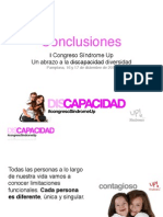 CONCLUSIONES. I Congreso Síndrome Up
