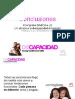 CONCLUSIONES. I Congreso Síndrome Up