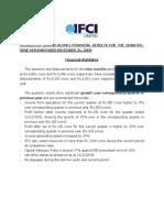 IFCI Dec09