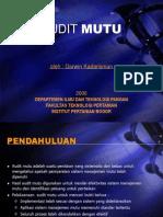 13.Audit Mutu - TPG 2006