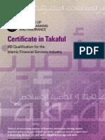 Certificate in Takaful