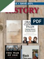 University of Illinois Press History catalog 2012