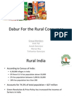 Dabur Hair Oil Rural Ppt