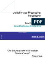 Image Processing 1 Introduction