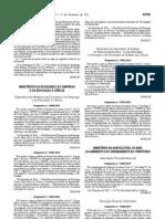 Medicamentos e Produtos veterinarios - Legislacao Portuguesa - 2011/12 - Desp nº 17066 - QUALI.PT