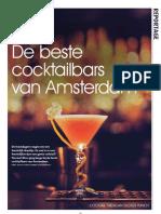 De beste cocktailbars van Amsterdam - nl20 Editie 26 2011